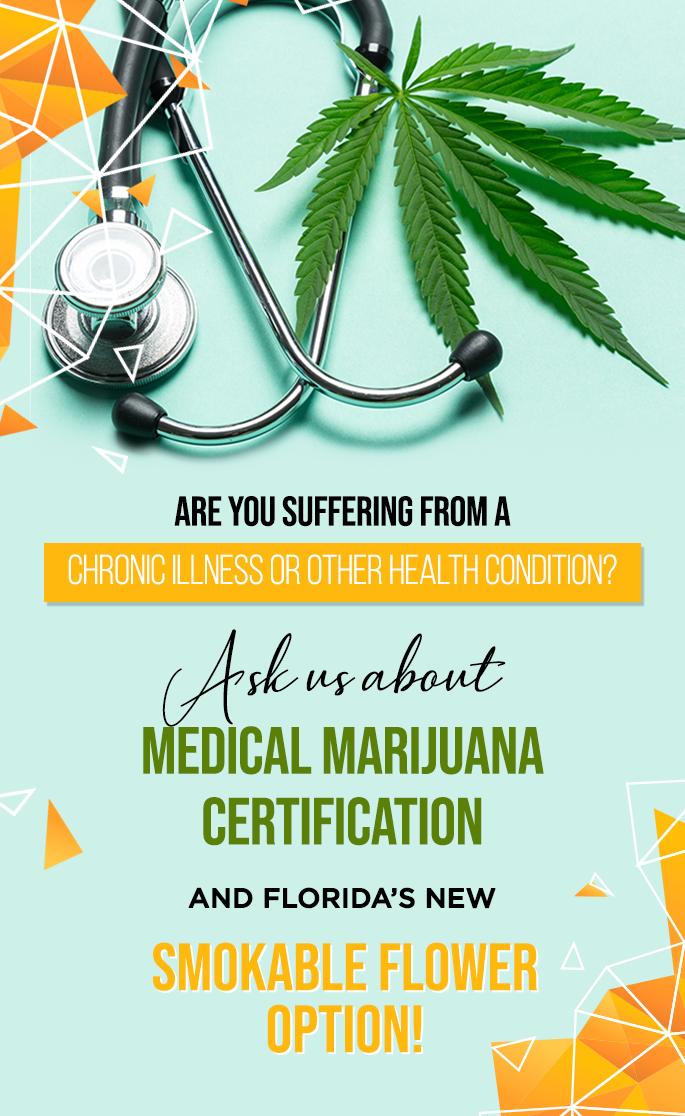 Ask About Medical Marijuana